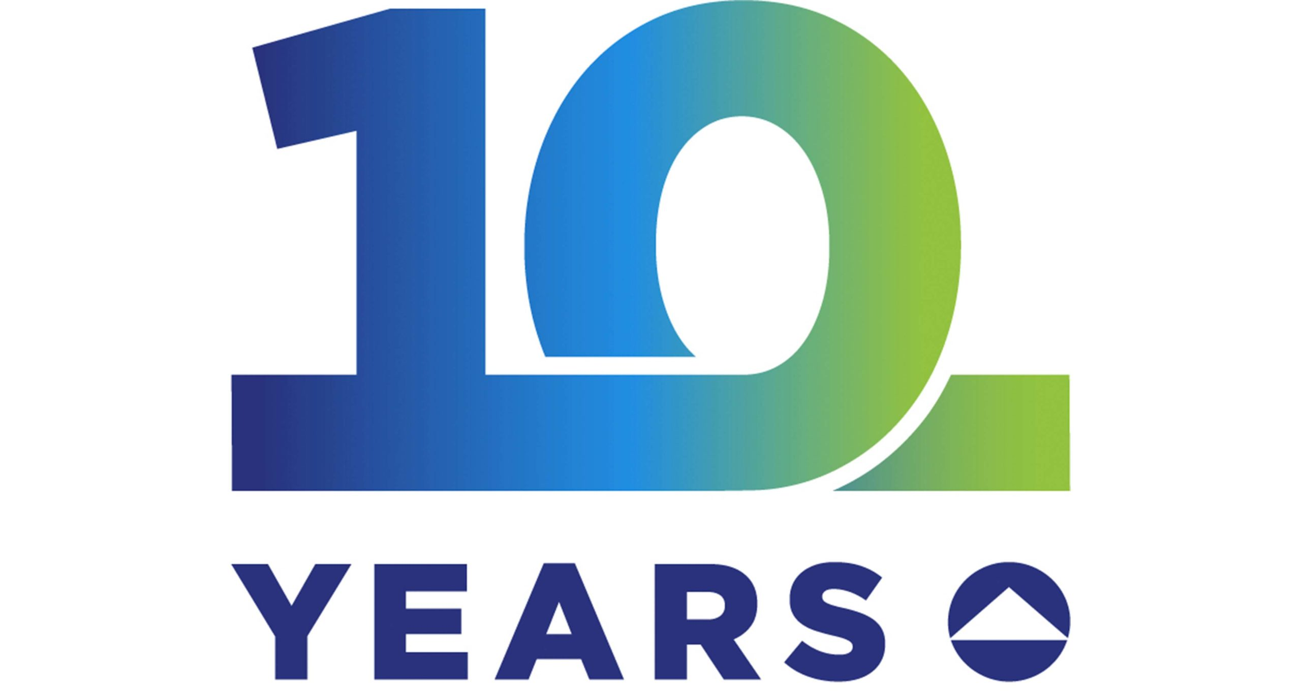 FBHS 10 Year anniversary logo