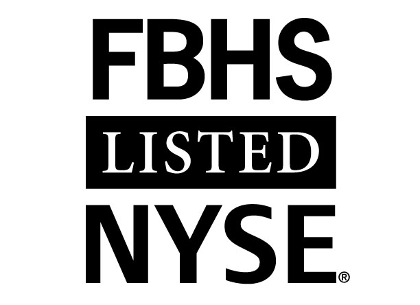 FBHS Listed on NYSE logo